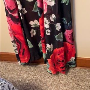 karen T designs Dresses - Flower chiffon maxi dress